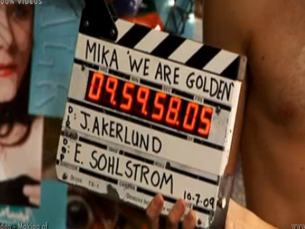 MIKA - We Are Golden - Making of