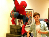 Louis Tomlinson et Spiderman