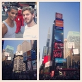 M.Pokora : Chilling on time square with @bramski6