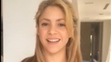 Shakira thanks her 100m Facebook friends!