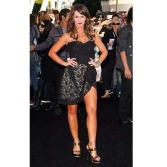 Twilight Eclipse à Los Angeles - Jennifer Love Hewitt en Dolce & Gabbana