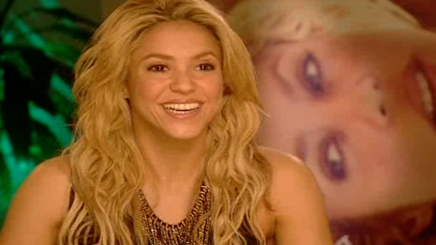 SHAKIRA : MATE SON INTERVIEW !