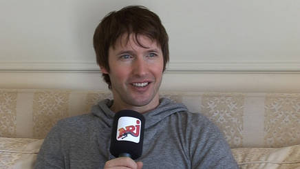 JAMES BLUNT : rencontre à Cannes