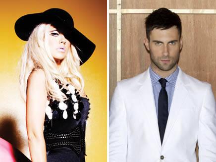 Christina Aguilera et Adam Levine en duo