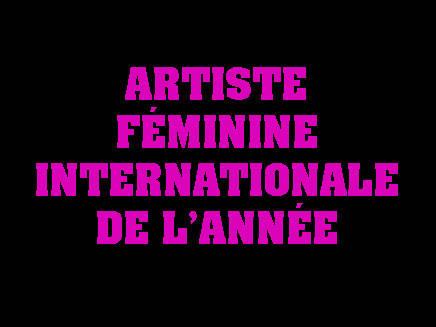 Rihanna, Artiste féminine internationale de l'année aux NRJ Music Awards 2012