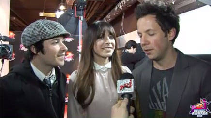 Réactions : Simple Plan - Nrj Music Awards 2012