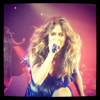 JLO sur scène pour son Dance Again World Tour 2012