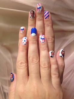 Katy Perry : Ongles appropriés