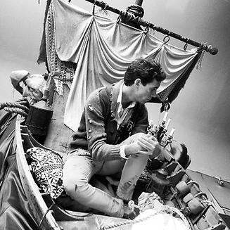 Mika sur le tournage de son nouveau clip