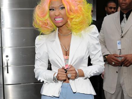 Nicki Minaj n'est pas à la fête