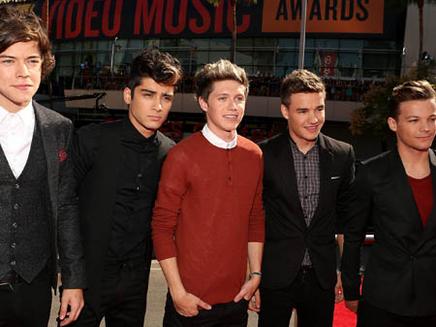 One Direction : numéro un aux Etats-Unis !