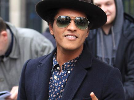Bruno Mars: toujours numéro un aux Etats-Unis!