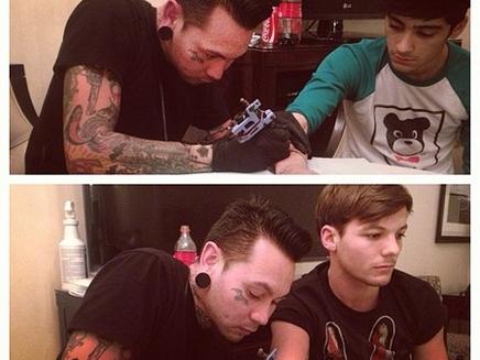 One Direction : encore de nouveaux tatouages !
