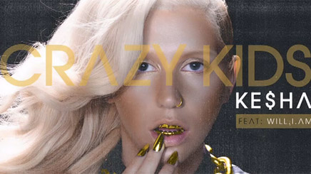 Ke$ha Feat Will.I.Am - Crazy Kids [Remix]
