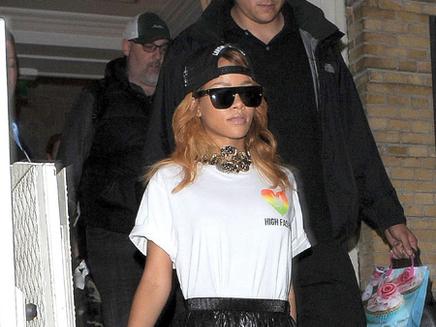 Rihanna à Amsterdam !