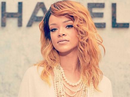 Rihanna fait son défilé à Paris!