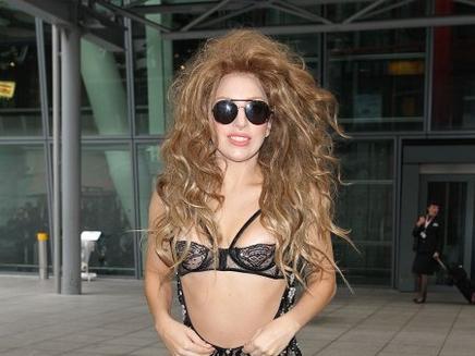 Lady Gaga : très sexy dans les rues de Londres !