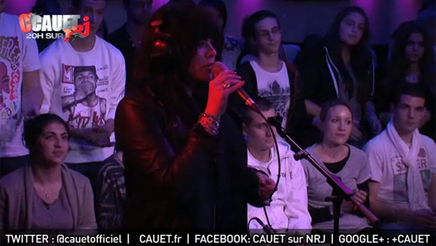 "Alex Hepburn ""Miss Misery"" Live sur NRJ"