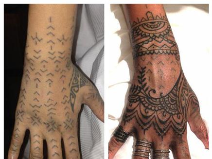 Rihanna : un nouveau tatouage ?