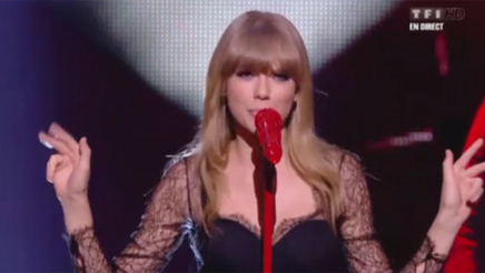 Taylor Swift « We are never getting back together » Live 2013