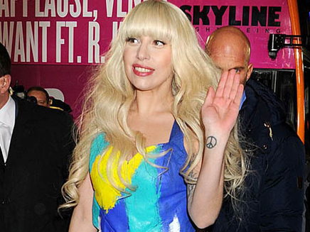 Lady Gaga : « Applause » version cabaret