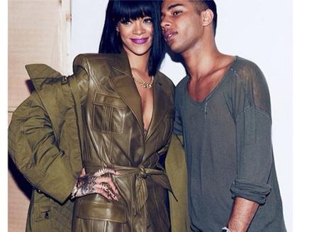 Rihanna : folle de Balmain !