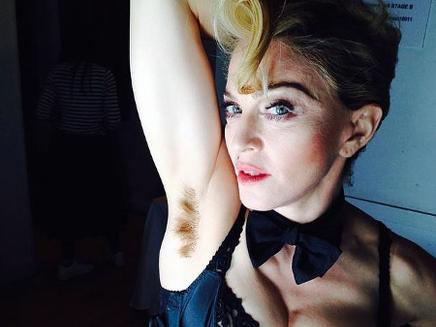 Madonna : au poil !