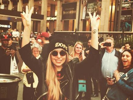 Lady Gaga : heureuse et amoureuse à NY