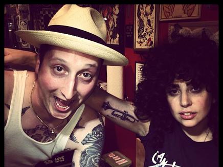 Lady Gaga : un nouveau tatouage !