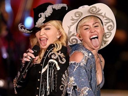 Madonna et Miley Cyrus : le duo!