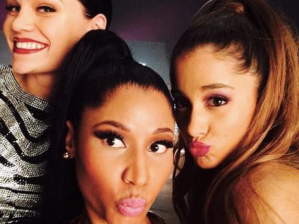"Nicki Minaj, Ariana Grande & Jessie J : sur le tournage du clip de ""Bang Bang""!"