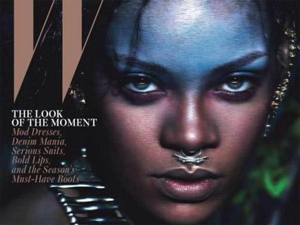 Rihanna : méconnaissable en Une de W magazine !