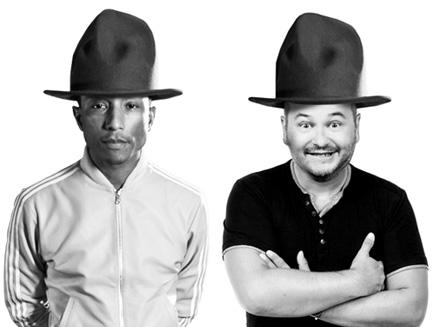 Pharrell Williams : une émission spéciale sur NRJ avec Cauet!