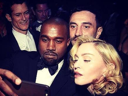 Madonna : un selfie avec Kanye West!