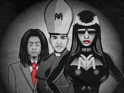 Nicki Minaj : Drake, Lil Wayne et Chris Brown sur son nouveau hit!