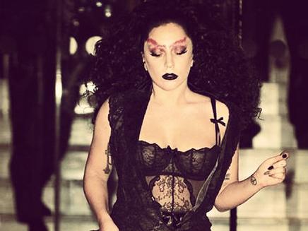 Lady Gaga : parée pour Halloween