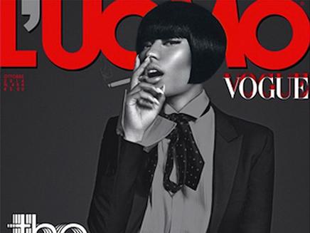 Nicki Minaj : transformée pour L'Uomo Vogue !