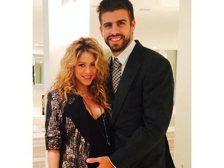Shakira : une future maman aux anges!