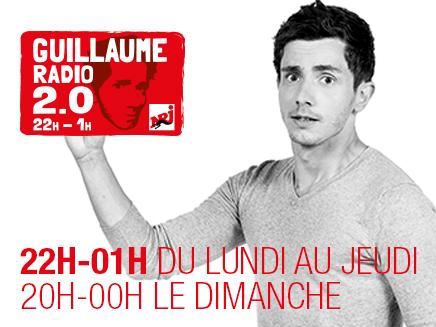 Guillaume Radio 2.0 22h - 01h sur NRJ