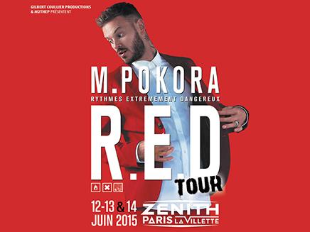 M.Pokora : quatre nouvelles dates pour sa tournée!