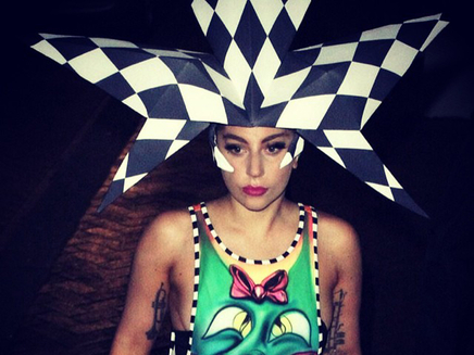 Lady Gaga : un look toujours plus gagaesque !