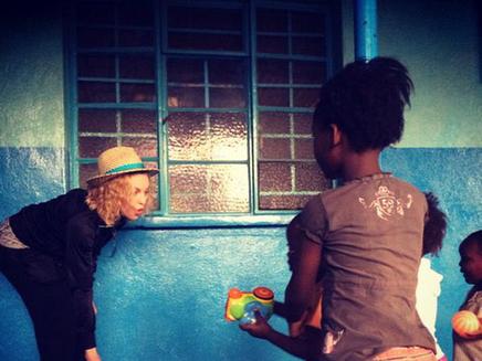 Madonna : au Malawi pour la bonne cause!