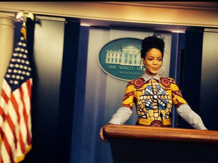 Rihanna à la Maison Blanche !