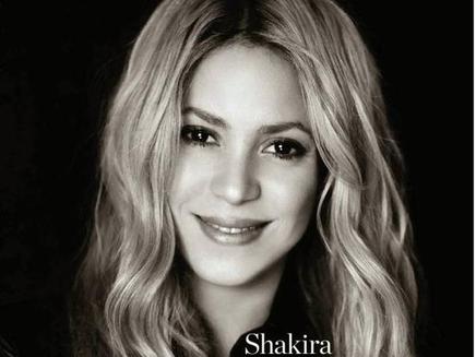 Shakira : heureuse et sans artifice en couverture du magazine ELLE!