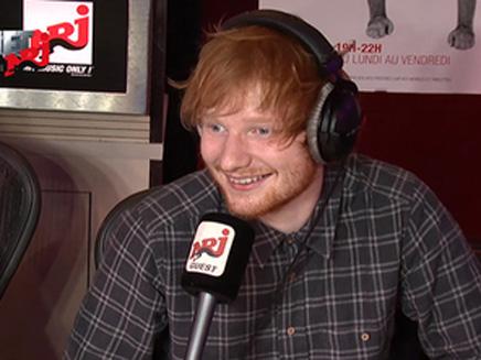 Ed Sheeran : une fan française dans ses bras