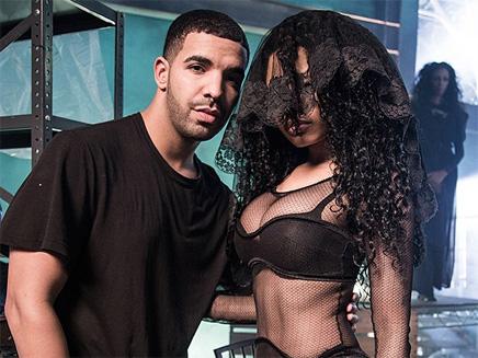 Nicki Minaj : un tournage très hot avec Drake, Lil Wayne et Chris Brown!