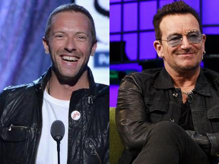 Chris Martin vient en aide à Bono!