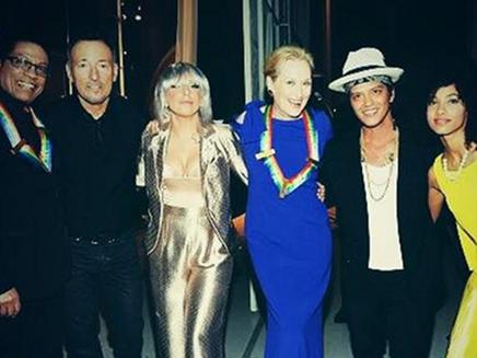 Lady Gaga : rencontre avec Bruno Mars!
