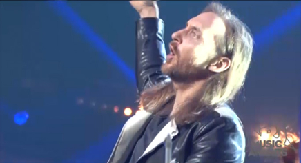 David Guetta : les coulisses de ses répétitions! - NRJ Music Awards 2014