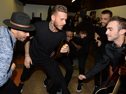 [36 photos] Backstages - NRJ Music Awards 2014